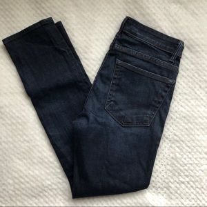 Helmut Lang High Rise Ankle Skinny Size 28